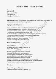 Math Tutor Job Description Resume Tutor Coordinator Resume Math