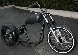 vcw 180 or 200 tire bobber rolling chassis custom harley