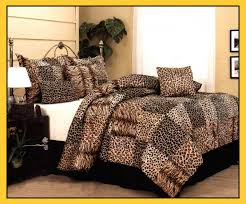 leopard print bedding sets queen nisartmacka com throughout king size animal comforter set inspirations 16