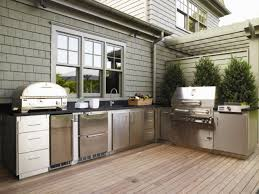Outdoor Kitchen Furniture Outdoor Kitchen Cabinets Pictures Ideas Tips From Hgtv Hgtv