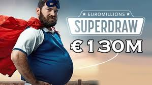 EuroMillions Superdraw Friday 1st February 2019