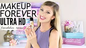 new makeup forever ultra hd foundation review demo