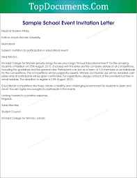 Event Invitation Letter Template Employee Information Form Sample