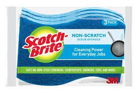 Scotch Brite Non Scratch Scrub Sponge