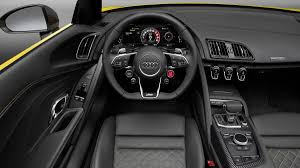 audi r8 convertible interior. Interesting Interior 1 Of 9The R8 V10 Spyder With 52liter Engine And Sevenspeed Stronic  Dualclutch Transmission Delivers 540 Hp 398 Lbft Torque Inside Audi Convertible Interior