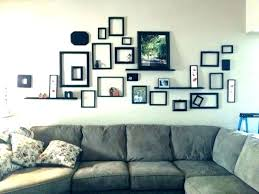frame collage ideas picture decorating wall frames empty family photo c