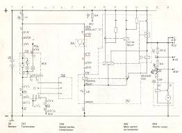 volvo service manual section component wiring diagram electrically operated main switch e t a electrical cut out
