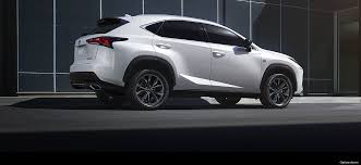 2018 lexus nx 300 f sport. unique lexus exterior shot of the 2018 lexus nx 300 f sport with lexus nx f sport x
