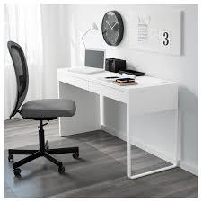 MICKE Desk - Black-brown - IKEA