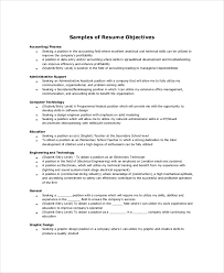 What Are Resume Objectives 100 Sample Resume Objectives PDF DOC Free Premium Templates 29