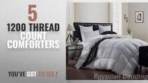 top 10 1200 thread count comforters 2018 luxurious 1200 thread count goose down comforter