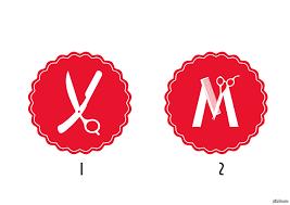 Помогите выбрать логотип Пишу диплом про фирменный стиль  Пишу диплом про фирменный стиль парикмахерской сделала 2 лого и теперь не