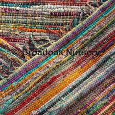 fair trade indian rag rugs 5 x7 150x210cm multicoloured recycled cotton