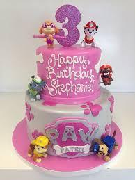 girl paw patrol cake 1