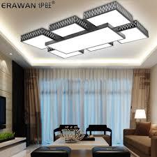 living room lighting ceiling. buy atmospheric rectangular living room ceiling lamp modern minimalist bedroom led lighting sky city restaurant in cheap price on alibabacom