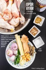 Menurut blog aziejaya didalam blognya. Opor Ayam Recipe Daily Cooking Quest