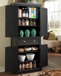 Orion 4 Door Kitchen Pantry Tall Floor Cabinet With Doors Best Home Furniture Decoration