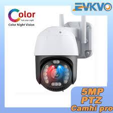 Camera An Ninh Evkvo - Ai Tự Động Camhi Pro App 5mp Kết Nối Wifi - Camera  giám sát kết nối internet
