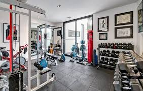 Free Weight Rack Home Gym Designs