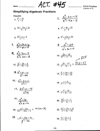 rational expressions act