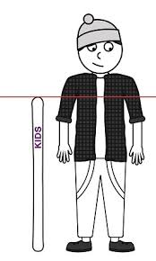 Ski Length Chart Child Kids Alpine Ski Size Chart Skatepro