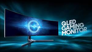 Arena Lighting Samsung Qled Gaming Monitor