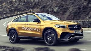 2016 Mercedes-Benz GLC Coupe Render Looks Just About Right   Carscoops