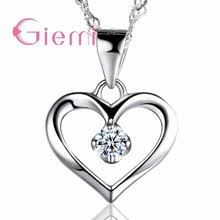 <b>authentic</b> silver chain heart