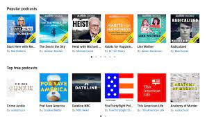 Audible has added 100,000 free podcasts - Good e-Reader