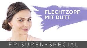 Dirndl Frisur Flechtzopf Mit Dutt F R Mittellange Haare Two For