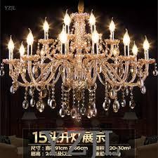 top 10 crystal chandelier light living room dining room staircase crystal lighting chandeier atmosphere vintage amber