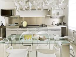Dining Room Kitchen Tables with glass