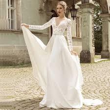 elegant wedding dresses 2017 one shoulder satin wedding dresses