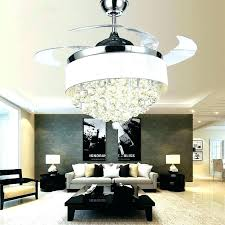 ceiling fans with crystals marvelous crystal light kit fan shades