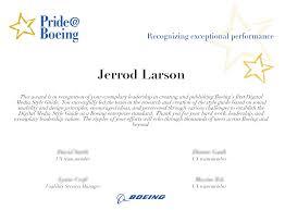 Resume — Jerrod Larson | Ux