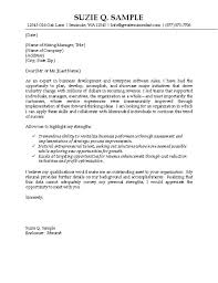 Examples Of Cover Letters For Resumes Inspiration IT Sales Cover Letter Example Technology Professional