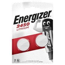 Купить <b>Батарея Energizer CR2450</b> 3V <b>Lithium</b> 2шт. в каталоге ...