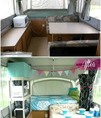 pop up camper remodel 2 good ideas for more storage through shelving