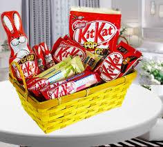 kitkat chocolate basket