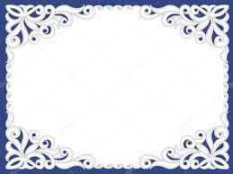 Card Frame Design Template Frame Design For Card Stock Vector Tatashat