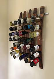 modern wall wine racks
