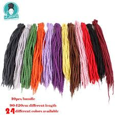 <b>Luxury For Braiding</b> 10strands 90cm 120cm long Nepal felted wool ...
