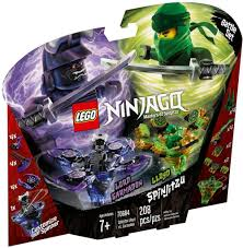 Đồ chơi LEGO Ninjago 70664 - Bông Dụ Lốc Xoáy Lloyd và Garmadon (LEGO 70664  Spinjitzu Lloyd