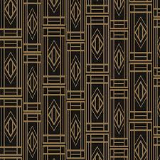 gold and black art deco repetitive pattern on gold art deco wallpaper uk with how to achieve an art deco bathroom by mira showers by mira showers
