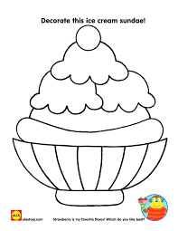 Small Picture The 25 best Ice cream coloring pages ideas on Pinterest