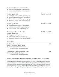 Resume Keywords Adorable Blank Cv Format For Job Resume Form Curriculum Vitae Of Fresh