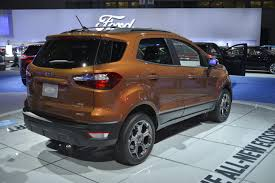 2018 ford ecosport. plain ford 2018 ford ecosport looks ugly as sin in los angeles throughout ford ecosport