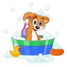 shower tub clipart. CLIPART DOG IN BATH   Royalty Free Vector Design Shower Tub Clipart