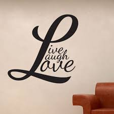 live laugh love wall stickers wall stickers colour chart wall