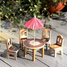 dollhouse miniature furniture. wooden dollhouse miniature furniture mini dining room table u0026 chair craft landscape garden decor tile art stickers border from k